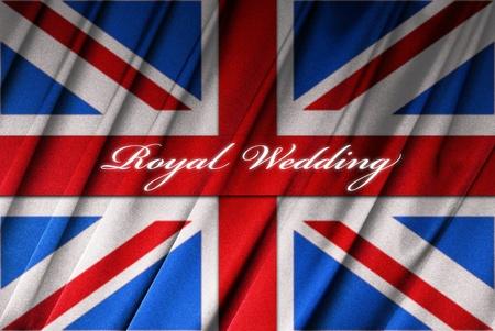 British flag - Union Jack - for the Royal Wedding Stock Photo - 9430506