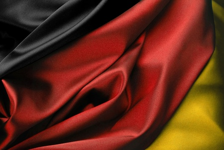 Germany - German flag in close-up photo