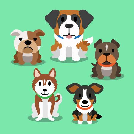 saint bernard: Cartoon dogs