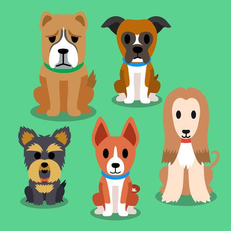 puppy cartoon: Cartoon dogs