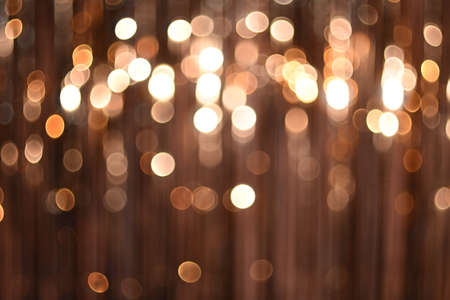 Background texture with bright glowing lights bokeh