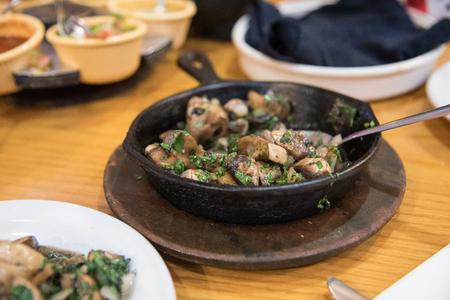 spicy mushrooms