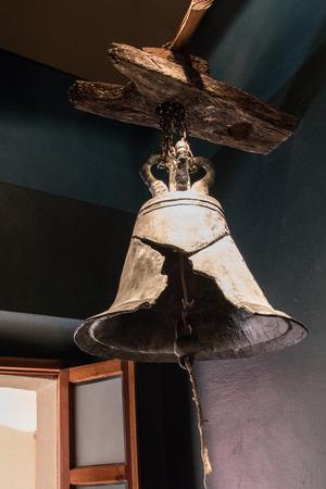Broken bell Stock Photo
