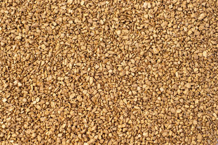 Top view of large pile of gold particles