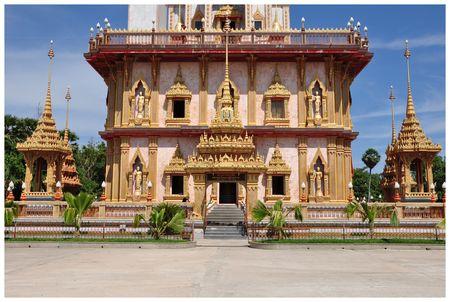 chalong: Chalong temple Phuket Thailand