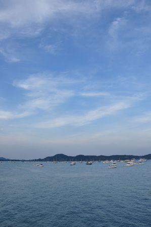 chalong: Chalong  harbor Phuket Thailand