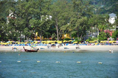 Patong beach Phuket island Thailand 16 April 2010 Stock Photo - 6809153