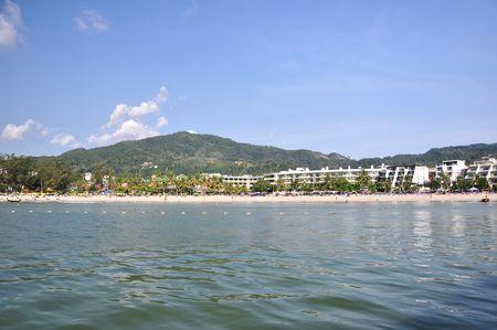 Patong beach Phuket island Thailand 16 April 2010 photo