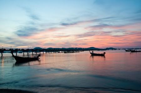 Sunshine @Chalong bayThailand Stock Photo - 7024282