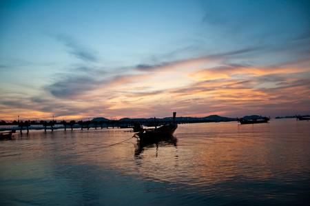 Sunshine @Chalong bayThailand Stock Photo - 7024289