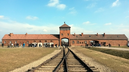 Auschwitz Rail Entrance