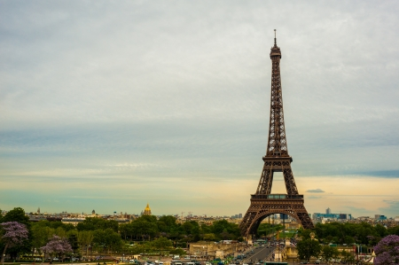 The Eiffel tower Paris Stock Photo - 14151727