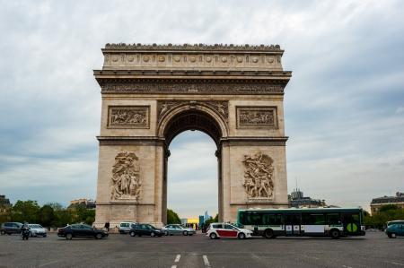 Arc de Triomphe � Paris Banque d'images