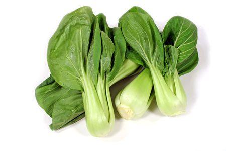 chuparse los dedos: Delicioso chino vegetales de hoja verde Bok Choy.