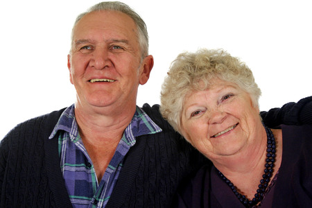 affinity: Happy senior marries couple enjoying life.