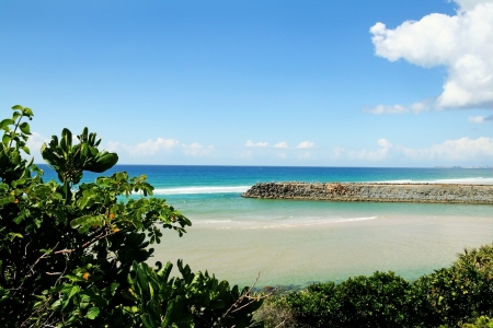 Famous Tallebudgera Creek on the Gold Coast in Queensland Australia Stock Photo - 18652227