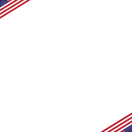 patriotic background: American Independence Day Patriotic background. Vector Flat design
