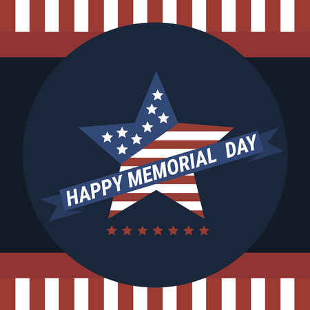 day: Happy Memorial Day vector