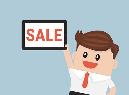 mega phone: Businessman sale