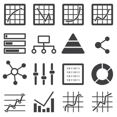 analytic: analytic icon set