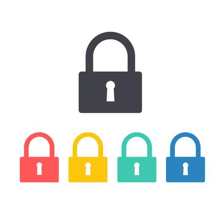 padlock icon: Padlock icon