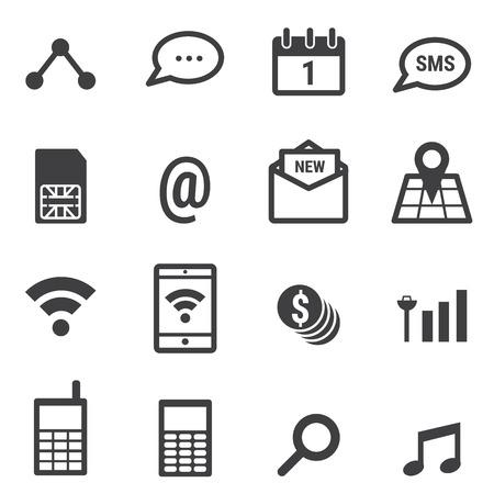 mobile phone icon: Mobile phone Icon Illustration