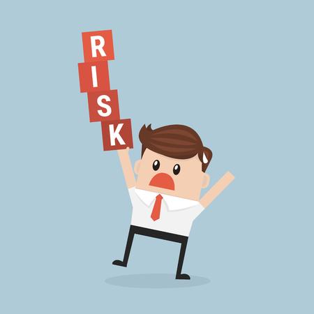 success control: Risk management. Illustration