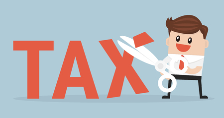 Tax Deduction. Business Concept.