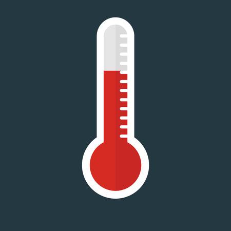 medics: Thermometer Flat Icon