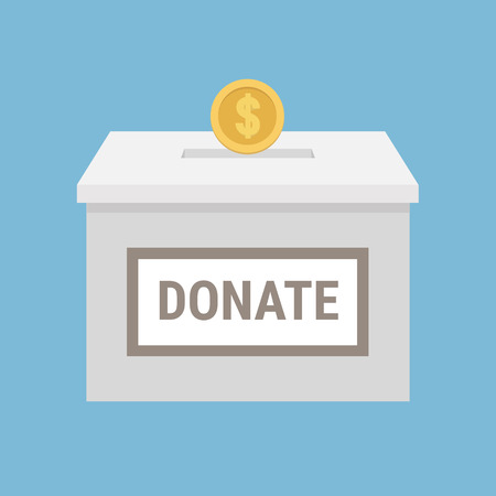 raising cans: Donation box