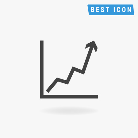 growth: Growth icon, vector icon