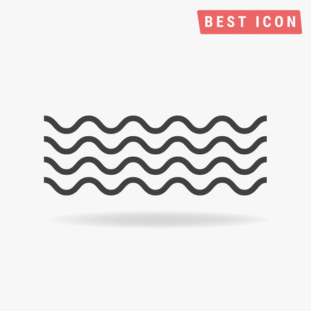 water flow: Wave Icon