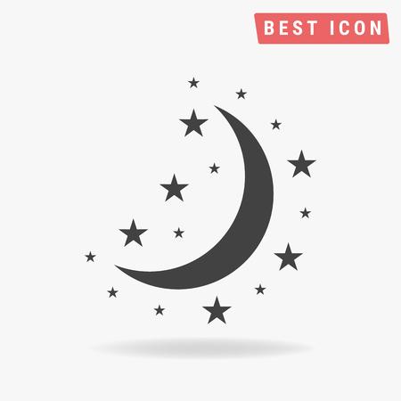 night: Night icon Illustration