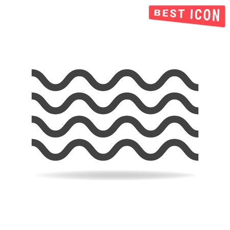 Wave icon Illustration