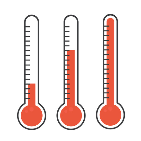 Isolated thermometers