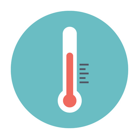 coldness: thermometer icon