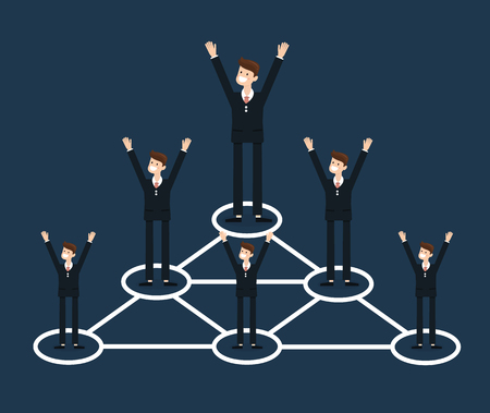 Business Connections Illustration