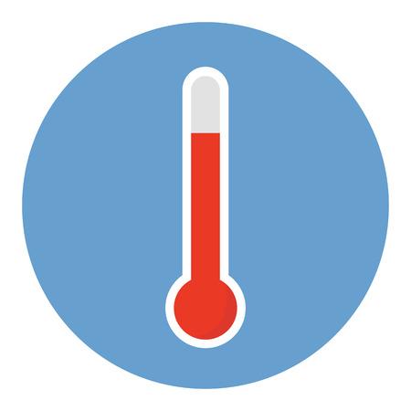 termometer: Thermometer icon Illustration