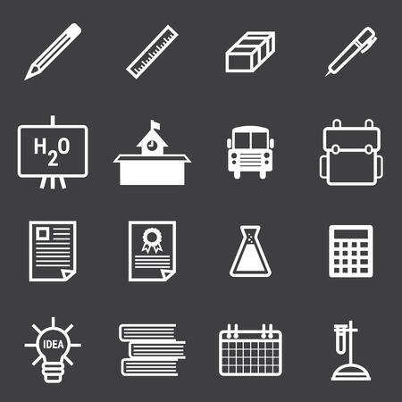 onderwijs: Education Icons