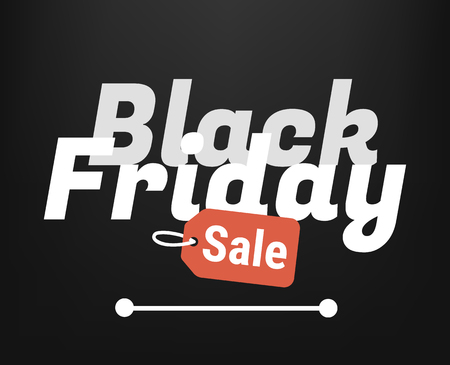 black friday sale vector template