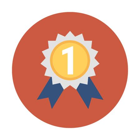 Ribbon Badge Vector Icon Illustration