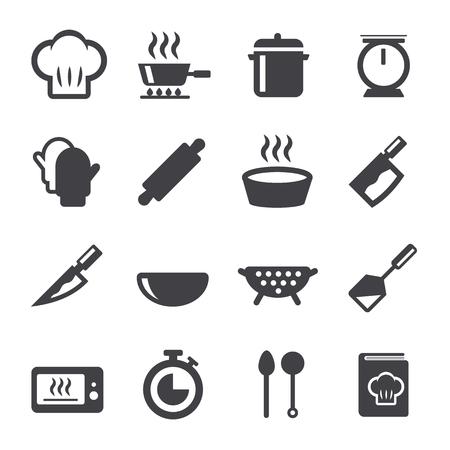 cook icon vector illustration. 向量圖像