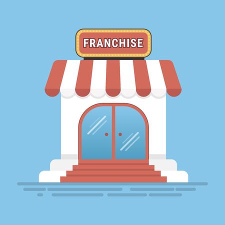 Franchise business concept, franchise marketing system