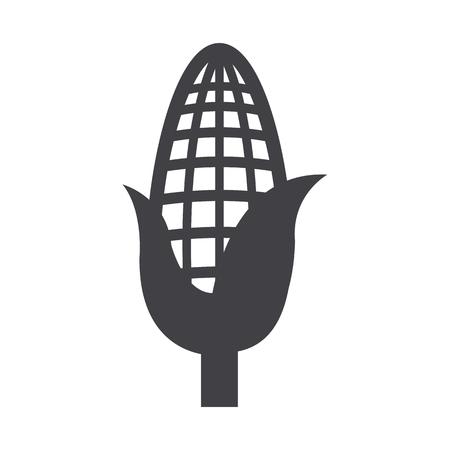 corn icon - vector illustration
