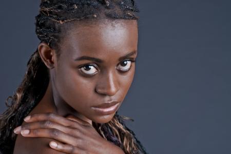 Close up of a beautiful black woman Stock Photo - 14344733