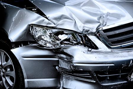 Car crash 스톡 콘텐츠