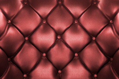 buttoned: Close up luxury buttoned leather