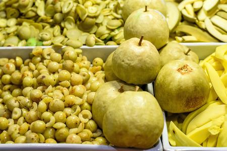 pickling: Thai fruit pickling in market Stock Photo