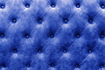 buttoned: luxury buttoned blue leather background