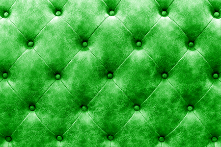 buttoned: luxury buttoned green leather background